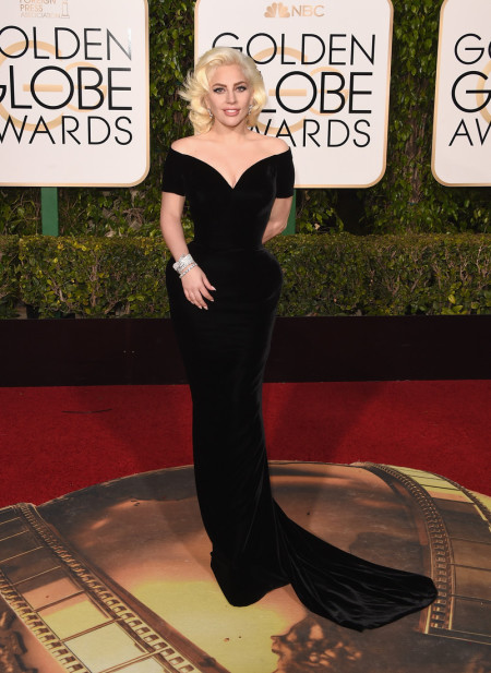 BEVERLY HILLS, CA - JANUARY 10: Singer/actress Lady Gaga attends the 73rd Annual Golden Globe Awards held at the Beverly Hilton Hotel on January 10, 2016 in Beverly Hills, California. (Photo by Jason Merritt/Getty Images)