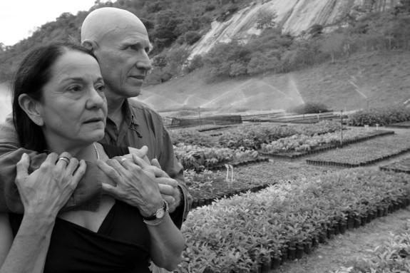Lelia e Sebastiao Salgado. Aymores. Minas Gerais. Brasil. Outubro de 2006.