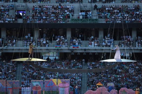 Opening Ceremony: Baku 2015 - 1st European Games