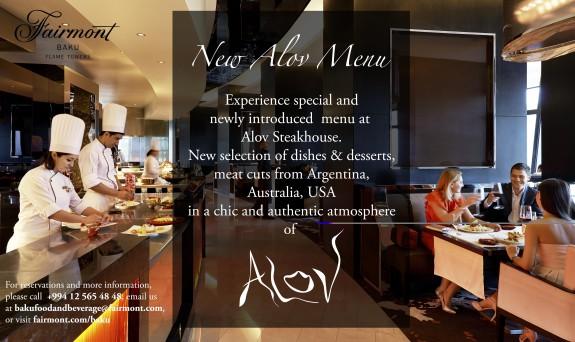 new alov menu