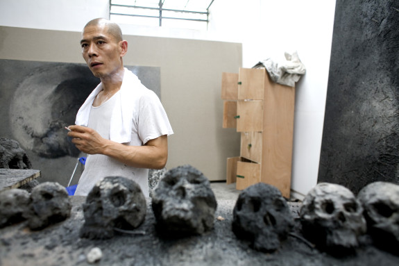 China - Art - Artist Zhang Huan