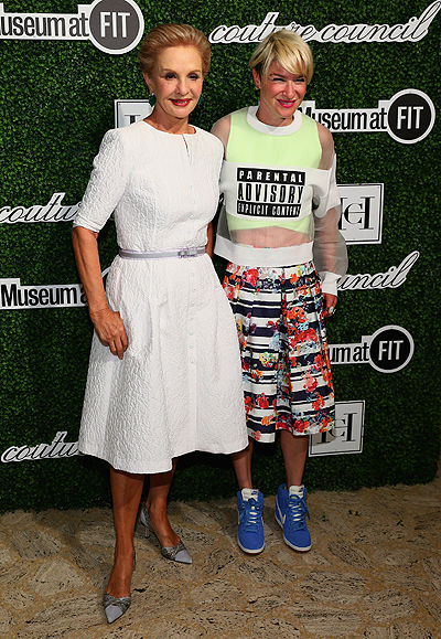 Carolina Herrera Honored With 2014 Couture Council Award At Luncheon Benefit For The Museum At FIT - Arrivals