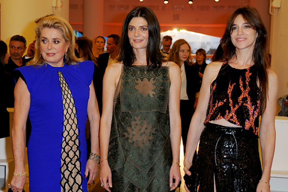 71st Venice International Film Festival - '3 Coeurs' - Premiere Featuring: Chiara Mastroianni,Catherine Denevue,Charlotte Gainsbourg Where: Venice, Italy When: 30 Aug 2014 Credit: WENN.com **Not available for publication in Italy**