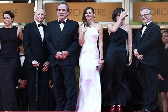 """The Homesman"" Premiere - The 67th Annual Cannes Film Festival"